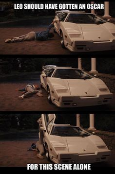 Leo should've gotten an Oscar for this scene alone. Wolf of Wall Street