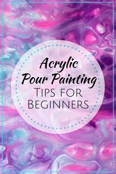 Acrylic Pour Painting Tips (a List for Beginners) - Learn acrylic pour painting tips about the process things to avoid and ways to improve your skills so you can accelerate the path from beginner to experienced pour painter. Flow Painting, Acrylic Painting For Beginners, Acrylic Painting Tutorials, Beginner Painting, Diy Painting, Learn Painting, Drawing Tutorials, Pour Painting Techniques, Acrylic Pouring Techniques