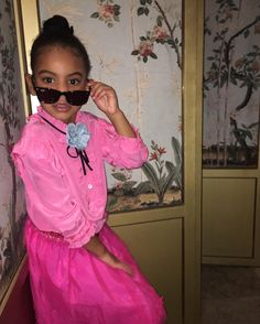 Blue Ivy Styles Herself in Mini Gucci and Yes Its Adorable http://ift.tt/29VJXfB #Vogue #Fashion