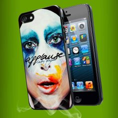 Lady Gaga Applause Album Cover for iPhone 4/4s/5/5s/5c, Samsung Galaxy s3/s4 case
