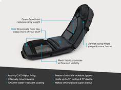 Minaal Carry-on 2.0 Bag - can add waist belt