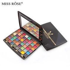 Miss rose 3d 48 pure mineral cosmetic colors gently start powder wet wet pearl shimmer eyeshadow palette Beauty makeup