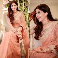 Are you looking for the best Pakistani designer sarees collection for your special wedding day and family wedding events? Saree could be an absolutely perfect idea to make you glamorous at any party, event or wedding ceremony. Desi Wedding Dresses, Pakistani Bridal Dresses, Bridal Lehenga Choli, Pakistani Dress Design, Red Lehenga, Saree Wedding, Bridesmaid Dresses, Shadi Dresses, Indian Dresses