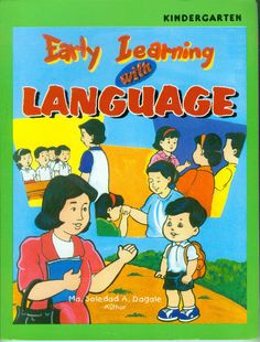 Early Learning with LANGUAGE Series (Nursery, Kinder, Prep) Early Learning, Bamboo, Kindergarten, Language, Comic Books, Nursery, Comics, Cover, Frame