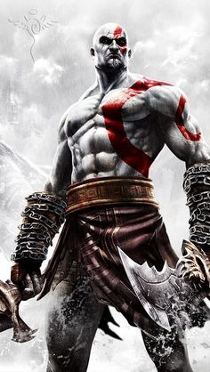 God Of War Blade of Chaos sword set. The Blades are made from 440 stainless steel, sharp, with the red sign on both sides of the daggers from God of War. Hero Wallpapers Hd, Mermaid Wallpapers, King's Quest, God Of War Series, God Of War Game, Kratos God Of War, War Tattoo, Mortal Kombat, Gi Joe