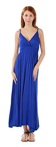 MarysGift Women's Plus Size Sleeveless Long Casual Beach Slip Dress Blue US 24. Fabric: Cotton Blend. The Solid V Neck Size from US 12 to US 24, S to 4XL Long/Maxi Sleeveless Slip Dresses suitable for holidays, dating, evening party, beach casual time and shopping. Please check the size chart on Product Description and choose the best one for you!. Plus Size, Soft Stretch, V-Neck, Sleeveless, Slip. See more sexy dresses, please search MarysGift on amazon.com!.