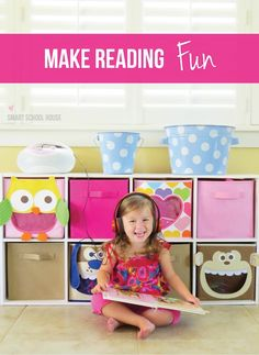 A great tip for how to make reading fun! Spoiler alert - make a listening center!