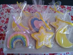 My Little Pony themed sugar cookies