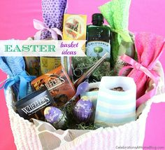Easter Basket Ideas for the Whole family... Adult ideas too!