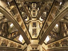 Inside the tallest church tower in the world, Ulm Minster, Germany   Flickr - Photo Sharing!