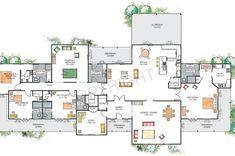 house plans australian homestead - Google Search