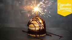 S'mores Alaska with Italian Meringue PLUS a Special Announcement!   Cupcake Jemma - YouTube