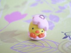 Polymer Clay Easter Baby Chick by ImSugarRibbon.deviantart.com on @deviantART