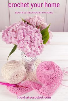 Find free crochet patterns for the home and beyond at lucykatecrochet.com