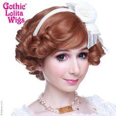 Gothic Lolita Wigs®  Curly Bob - Caramel Brown Mix #lolita #wig #wig4wig #glw #gothcilolitawigs #pastelhair #curlyhair #princess #doll #dolly #livingdoll #lolitafashion #Jfashion #makeupartist #circlelenses #eyelashes #rockalash #dolluxe #lash #lashes #kawaii #cute #pretty #gyaru #mori #ulzzang #angelicpretty #babythestarshinebright Natural Wigs, Anime Wigs, Wig Party, Angelic Pretty, Living Dolls, Pastel Hair, Cosplay Wigs, Big Hair, Lolita Fashion