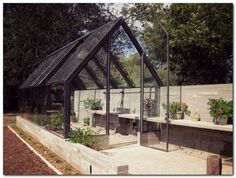 How to make the small greenhouse? There are some tempting seven basic steps to make the small greenhouse to beautify your garden. Best Greenhouse, Greenhouse Plans, Greenhouse Gardening, Greenhouse Wedding, Greenhouse Vegetables, Outdoor Greenhouse, Conservatory Garden, Portable Greenhouse, Modern Greenhouses