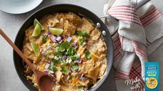 NEW Creamy Chicken Enchilada Skillet