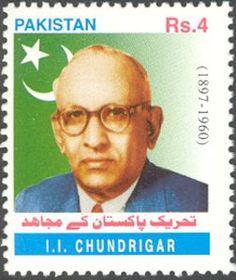 Pakistan Stamp - I.I. Chundrigar 1897-1960