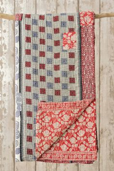 Kantha Quilt 24: by Lucki