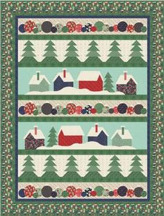 Down the Lane Quilt Pattern Download available at connectingthreads.com