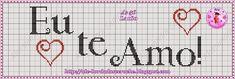 Bom dia!!!   Trazendo alguns Gráficos de Frases que eu fiz, uns são com monogramas q. eu criei.   Espero q. gostem. E conforme eu for fazen...
