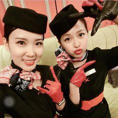 Follow ✈️ @asianflightattendent at China eastern airlines  with @djiaaah #crewlifeAsia#flightattendantasia#asianflightattendent#客室乗務員#기내#空姐#空乘#inflight#asiangirls#cabincrew#crew#aircrew#crewfie#cabincrewlifeatyle#cabin#uniform#asian#chinesegirl#asiangirl#chinaeasternairlines#crewiser, by crewiser.com