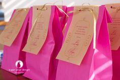 princess birthday party favors | www.sugarpeardesign.com | © 2012 Sugar Pear Design LLC