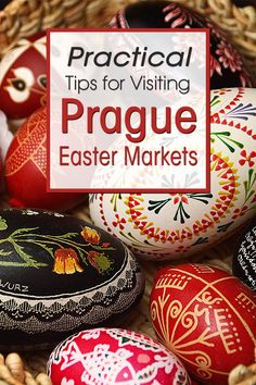 Are you planning a trip in Spring to Prague, the capital of Czech Republic? Read my practical guide about the Prague Easter Markets. What are they like, where to find them and what to expect when you travel to the Prague Easter Market. #prague #easter