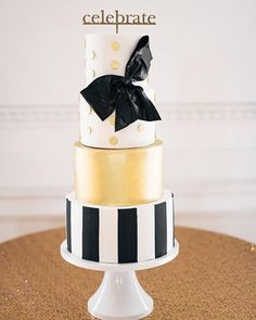 Kate Spade Wedding Cake