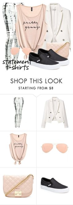 """""""x63"""" by ja1decrazymofo ❤ liked on Polyvore featuring Hudson Jeans, MANGO, Ray-Ban, Forever 21 and Vans"""