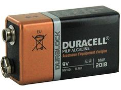 Duracell coppertop alkaline batteries for powering your electronic devices and keep them running for several days.