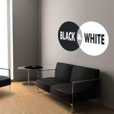 Vinilo decorativo BLACK & WHITE