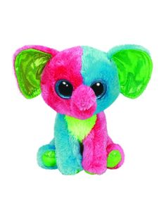 Elfie Elephant Large 18 in Beanie Boo Justice Exclusive