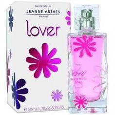 Jeanne Arthes  Lover Eau de Parfum  1. mandarin orange, freesia, cassis, passionfruit 2. jasmine, honeysuckle, black currant, apple, plum, raspberry, apricot 3. virginia cedar, mahogany, amber, peach, musk  2010 France  https://www.fragrantica.com/perfume/Jeanne-Arthes/Lover-10813.html http://item.rakuten.co.jp/kousuimonogatari/1158751/ https://store.shopping.yahoo.co.jp/kousuimonogatari-ys/1158751.html?sc_i=shp_sp_search_recomFromHistory