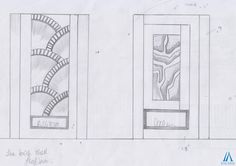Tremendous Fireplace Sketch Design Options by Team AAA