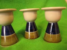 Vintage Sweden Rorstrand Marianne Westman 1960 ELISABETH egg cups candlestick #Rorstrand #MarianneWestman