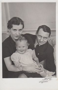 King Frederik IX and Queen Ingrid with their first daughter, Princess Margrethe, later Queen Margrethe II Denmark Royal Family, Danish Royal Family, Princess Mary, Prince And Princess, Cousins, Christian Ix, Queen Margrethe Ii, Danish Royalty, The Royal Collection