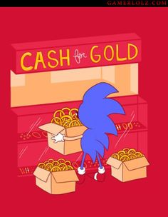 Hard times for Sonic. lol