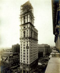 The New York Times Tower, 1904