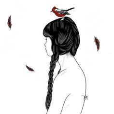 #illustration #digitalart Digital Art, Illustration, Robins, Illustrations