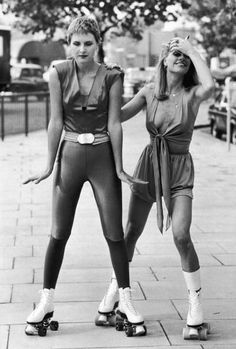 1000+ images about [1970s] ~ roller girl fashion on Pinterest | Roller disco Roller skating and ...