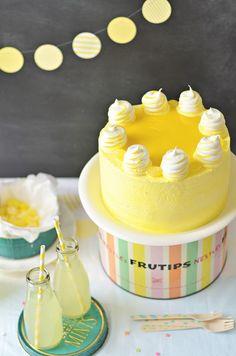 Lemon Meringue Delight Cake via @Rosie Alyea - Three Cheers for ROSIE!
