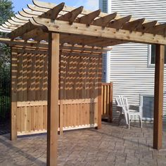 Image result for backyard privacy screening