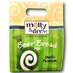 molly and drew The Beer Bread Company - Garlic Parmesan Beer Bread Mix * Once in a lifetime offer : baking desserts recipes