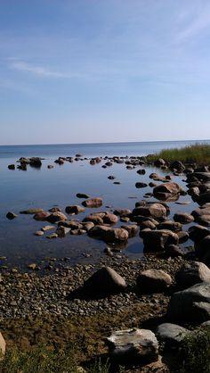 Shore of the Baltic Sea in Estonia