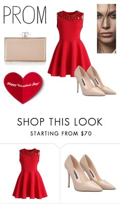 """""""Love."""" by michellsalazar ❤ liked on Polyvore featuring Chicwish and Judith Leiber"""