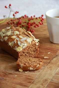 Gezonde kruidkoek met appel & amandel / Healthy spice cake with Apple & almond | De smaak van Cécile