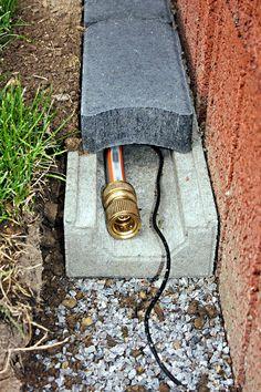 Kabel-Schlauch-Kanal – Christoph Betonwaren – – Gartengestaltung Ideen Cable hose duct – Christoph Betonwaren – goods wire – Things to consider for each one