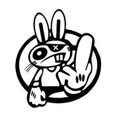 Jdm s Drift Rabbit Jdm Style 1 Vinyl Decal Sticker Jdm Stickers, Cool Stickers, Graffiti Doodles, Graffiti Art, Cartoon Drawing Tutorial, Cartoon Drawings, Vinyl Toys, Vinyl Decals, Graffiti Characters