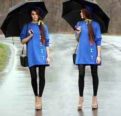 Dancing in the rain ♥ (by Alicja Stolarczyk) http://lookbook.nu/look/3270799-dancing-in-the-rain